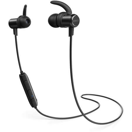 Casti Anker SoundBuds Slim Fara fir Bluetooth Black