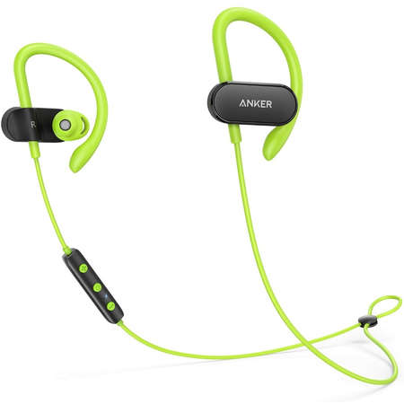 Casca de Telefon Anker SoundBuds Curve B2C UN Black Green 1