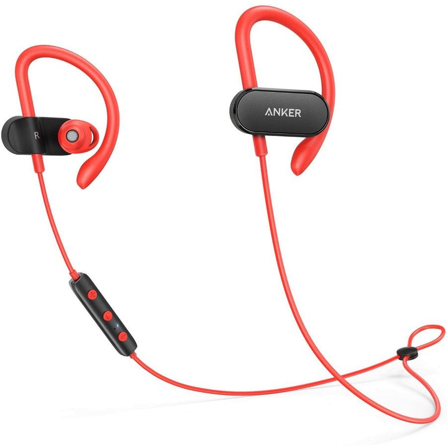 Casca de Telefon SoundBuds Curve B2C UN Black Red 1 thumbnail