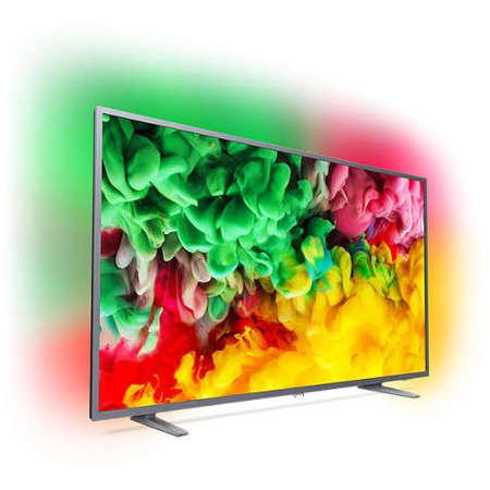 Televizor Philips LED Smart TV Ambilight 55 PUS6703/12 139cm Ultra HD 4K Grey