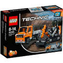 Set de constructie LEGO Technic Echipaj pentru Repararea Drumurilor