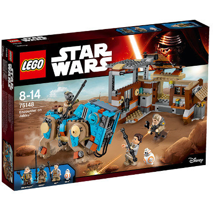 Set de constructie Star Wars Confruntare pe Jakku thumbnail