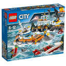 Set de constructie LEGO City Sediul Central al Garzii de Coasta