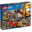 Set de constructie LEGO City Amplasamentul Minerilor Experti