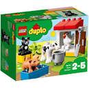 Set de constructie LEGO Duplo Animalele de la Ferma