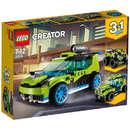 Set de constructie LEGO Creator Masina de Raliuri Rocket