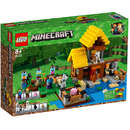 Set de constructie LEGO Minecraft Casuta de la Ferma