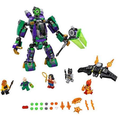 Set de constructie LEGO Super Heroes Distrugerea Robotului Lex Luthor