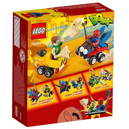 Set de constructie LEGO Super Heroes Mighty Micros Scarlet Spider Contra Sandman