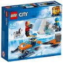 Set de constructie LEGO City Echipa Arctica de Explorare