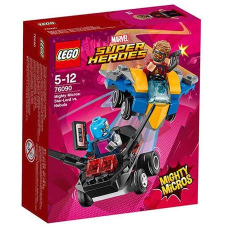 Set de constructie LEGO Super Heroes Mighty Micros Star Lord Contra Nebula