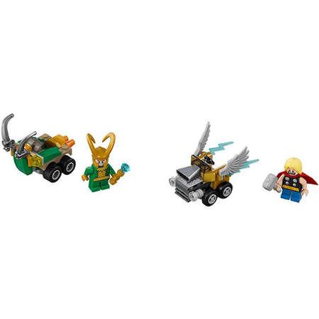 Set de constructie LEGO Super Heroes Mighty Micros Star Thor Contra Loki