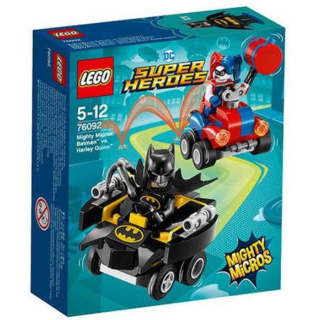 Set de constructie LEGO DC Super Heroes Mighty Micros Batman Contra Harley Quinn