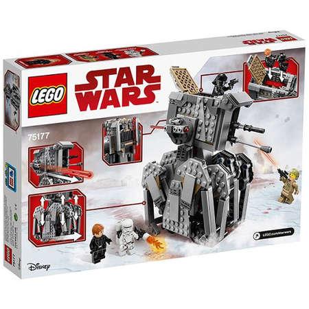 Set de constructie LEGO Star Wars Heavy Scout Walker al Ordinului Intai