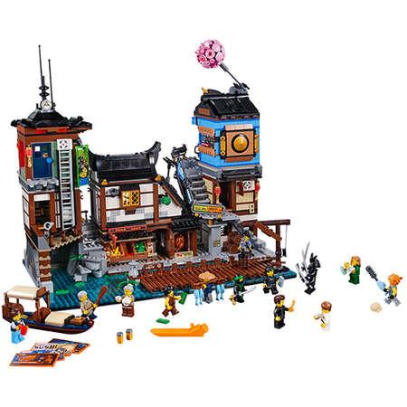 Set de constructie LEGO Ninjago Docurile Orasului