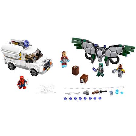 Set de constructie LEGO Marvel Super Heroes Atentie la Vultur