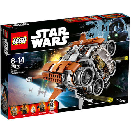 Set de constructie LEGO Star Wars Quadjumper Jakku