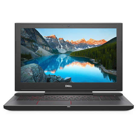 Laptop Dell Inspiron 5587 15.6 inch UHD Intel Core i7-8750H 16GB DDR4 1TB HDD 512GB SSD nVidia GeForce GTX 1060 OC 6GB Linux Black 3Yr CIS