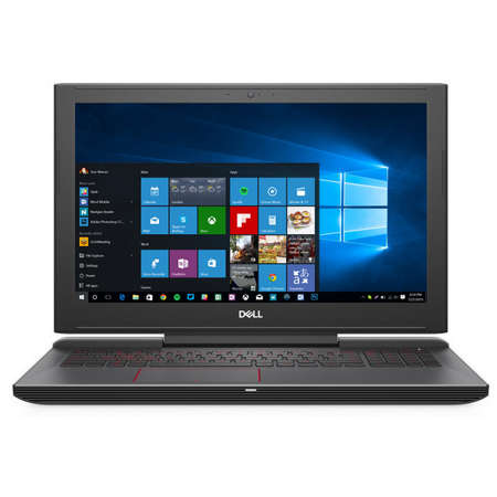 Laptop Dell Inspiron 5587 15.6 inch FHD Intel Core i7-8750H 8GB DDR4 1TB HDD 128GB SSD nVidia GeForce GTX 1050 Ti 4GB Windows 10 Home Black 3Yr CIS