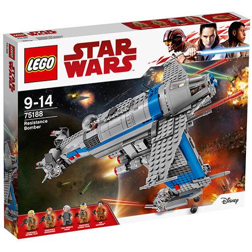 Set de constructie Star Wars Bombardier al Rezistentei thumbnail