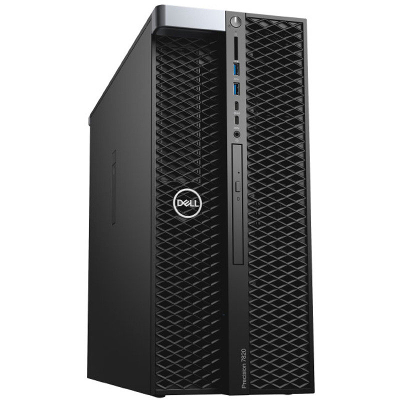 Sistem desktop Precision T5820 Intel Xeon W-2123 16GB DDR4 2TB HDD 256GB SSD nVidia Quadro P4000 8GB Windows 10 Pro thumbnail