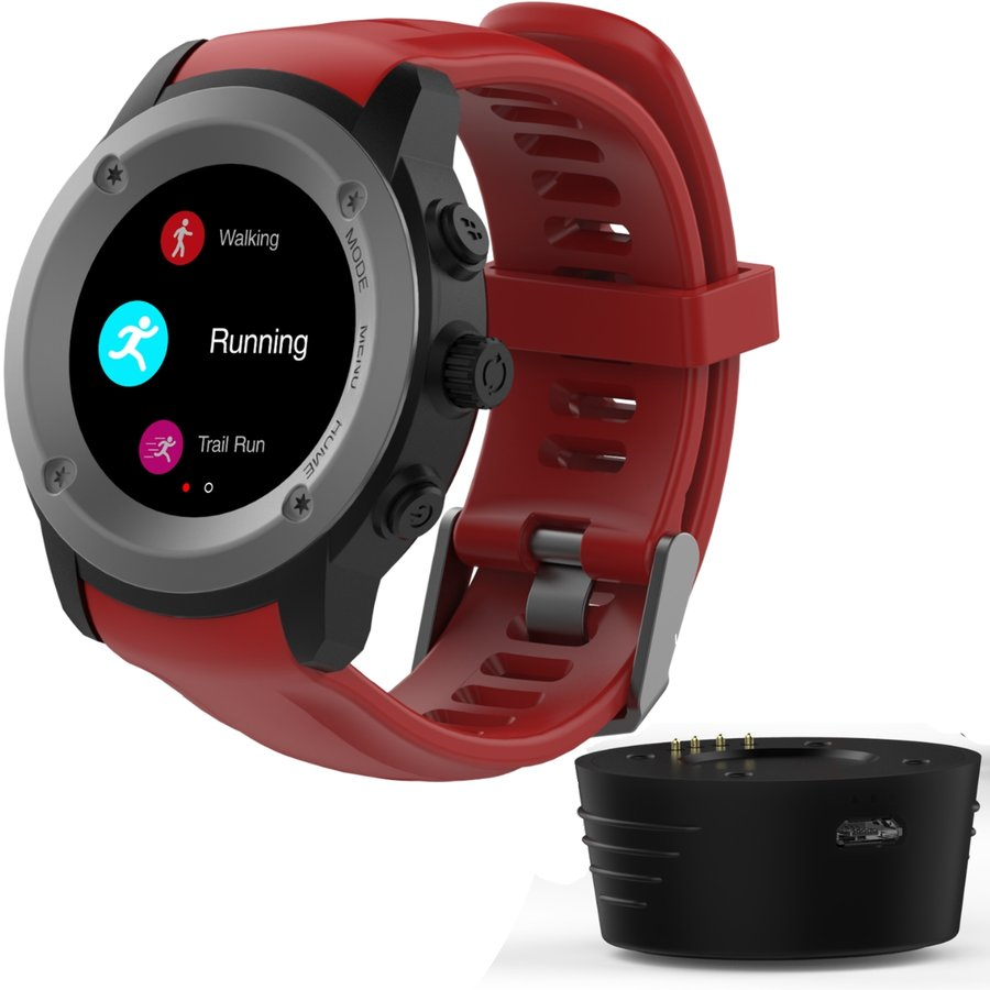 Smartwatch FitGo FW17 Power Red thumbnail