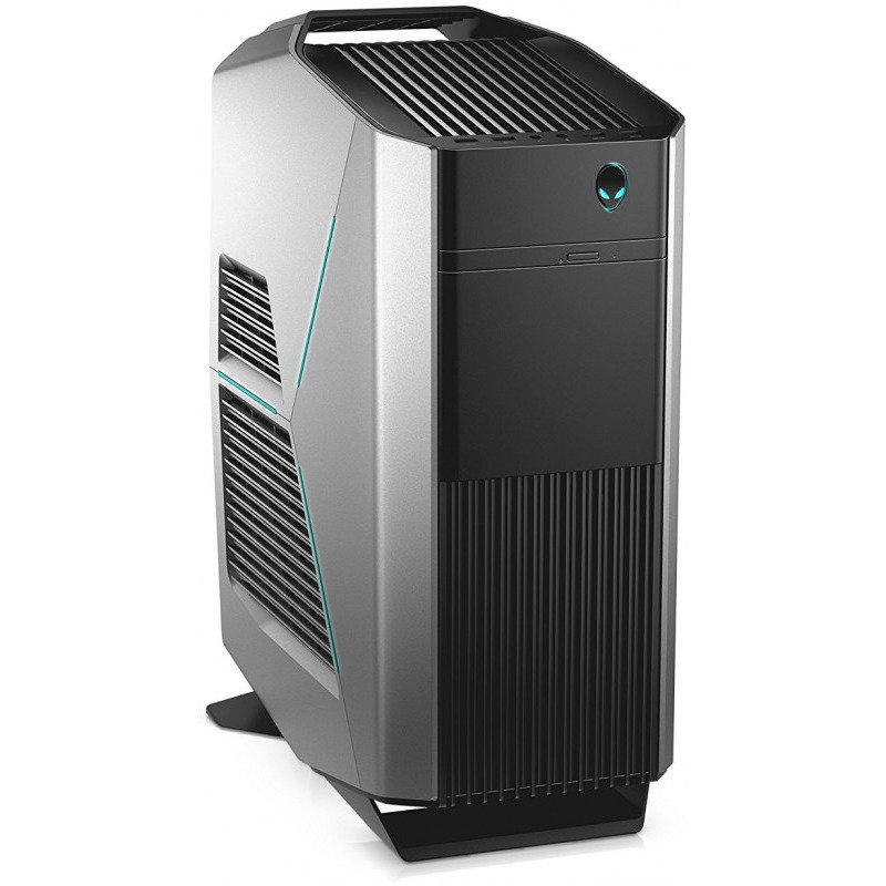 Sistem desktop Aurora R7 Base Intel Core i7-8700 16GB DDR4 1TB HDD 256GB SSD Dual nVidia GeForce GTX 1080 8GB Windows 10 Pro Black thumbnail