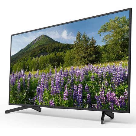 Televizor Sony LED Smart TV KD49XF7005 124cm Ultra HD 4K Black Clasa A