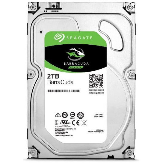 Hard disk BarraCuda 2TB SATA-III 3.5 inch 7200rpm 256MB thumbnail