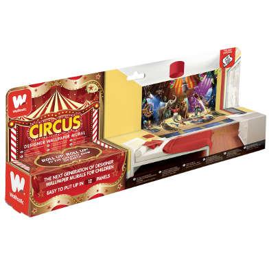Tapet pentru copii Walltastic Circul