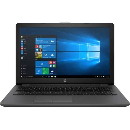 Laptop HP 250 G6 HD 15.6 inch Intel Core i3-6006U 2.0 Ghz 4GB DDR4 128GB SSD DVD-RW HD Graphics Windows 10 Home Dark Ash Silver