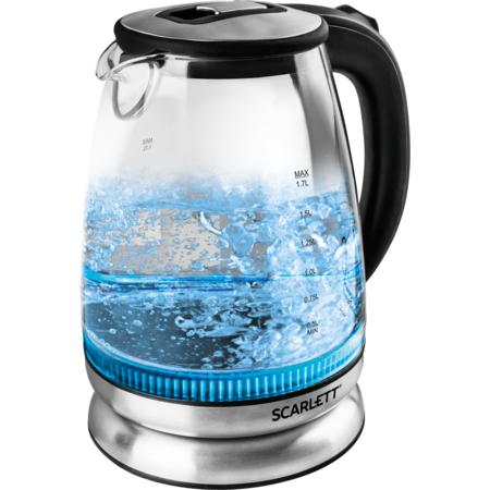 Fierbator SCARLETT SC-EK27G22 2000W 1.7 litri Negru / Argintiu