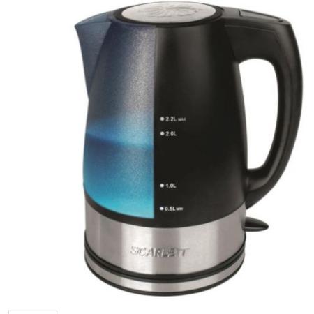 Fierbator SCARLETT SC-1020 2200W 2.2 litri Negru