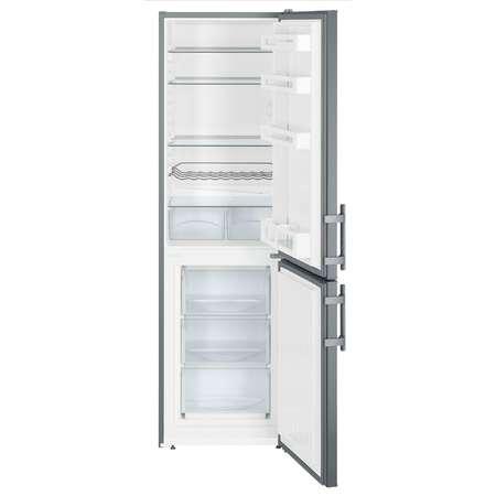 Combina frigorifica Liebherr CUef 3311 Gama Comfort 294 litri Clasa A++ Smart Frost Argintiu