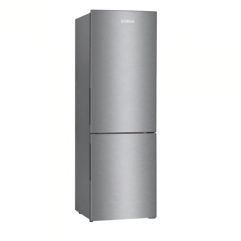 Combina frigorifica SCX390A+ 325 litri Clasa A+ Termostat reglabil  Inox