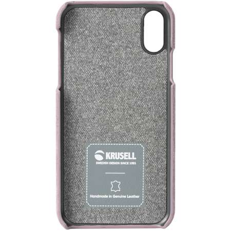 Husa Protectie Spate Krusell Broby Cover Roz pentru Apple iPhone XS Max