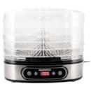 Deshidrator de alimente Daewoo DD500S 500W 5 tavi Inox