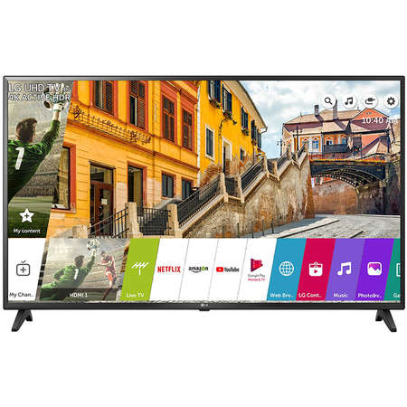 Televizor LG LED Smart TV 55 UK6200PLA 139cm Ultra HD 4K Black