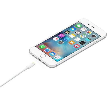 Cablu de date Apple Lightning USB 1 m White
