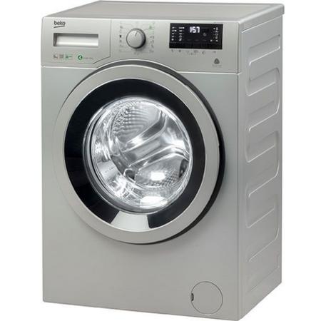 Masina de spalat rufe Beko WRE6532ZSBS Clasa A+++ 1000 RPM 6 kg Argintiu