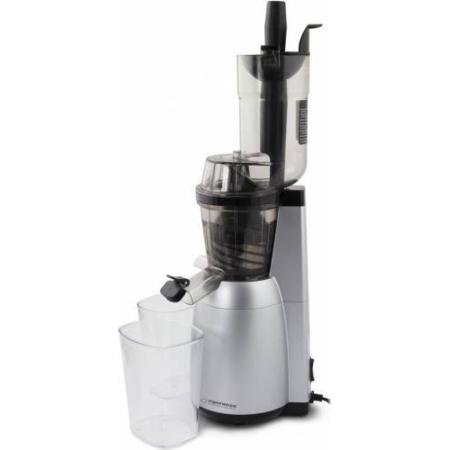 Storcator lent de fructe Esperanza EKJ004 Mela 150W 0.6 litri Argintiu