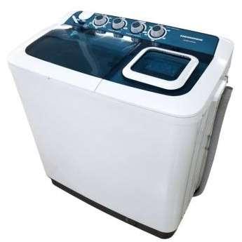 Masina de spalat rufe semi-automata Heinner HSWM-AD84BL spalare 8 kg stoarcere 4.6 kg Alb / Albastru