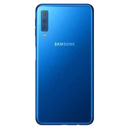 Smartphone Samsung Galaxy A7 2018 64GB 4GB RAM Dual Sim 4G Blue