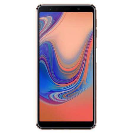 Smartphone Samsung Galaxy A7 2018 64GB 4GB RAM Dual Sim 4G Black