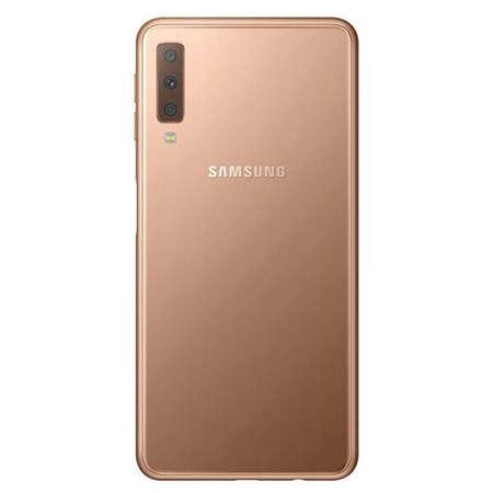 Smartphone Samsung Galaxy A7 2018 64GB 4GB RAM Dual Sim 4G Gold