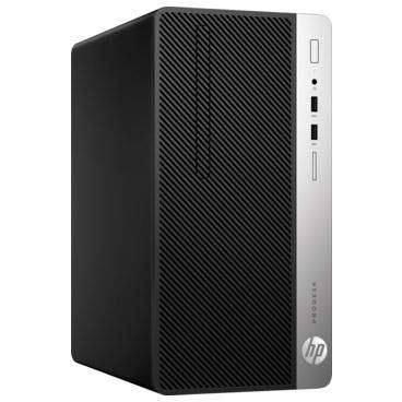 Sistem desktop HP ProDesk 400 G5 MT Intel Core i3-8100 4GB DDR4 1TB HDD Windows 10 Pro Black