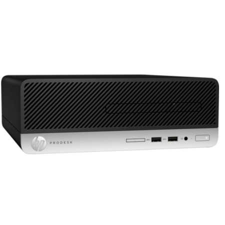 Sistem desktop HP ProDesk 400 G5 SFF Intel Core i3-8100 8GB DDR4 256GB SSD Windows 10 Pro Black