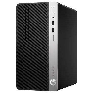 Sistem desktop HP ProDesk 400 G5 MT Intel Core i5-8500 8GB DDR4 256GB SSD AMD Radeon R7 430 2GB Windows 10 Pro Black