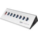 Hub USB Logilink UA0228 7 porturi+ 1x Fast Charging