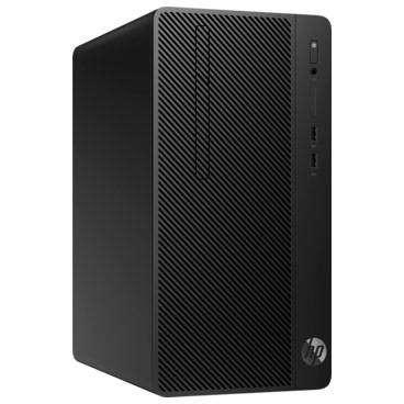Sistem desktop HP 290 G2 MT Intel Core i3-8100 4GB DDR4 500GB HDD Windows 10 Pro Black